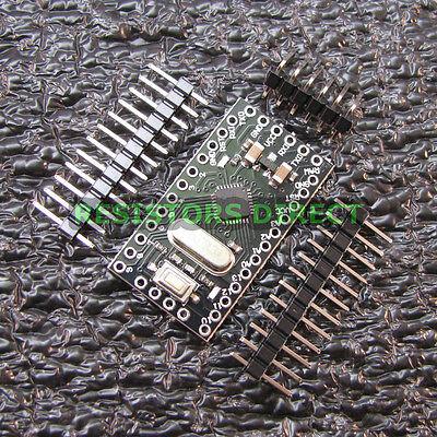 Arduino Pro Mini Atmega328p 5v 16mhz Header Pins Us Seller Fast Ship U57