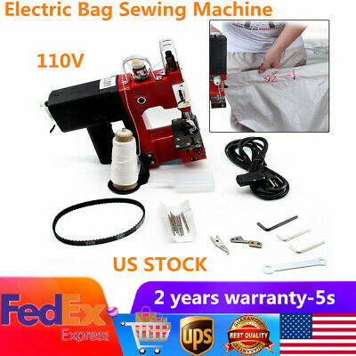 2019 Portable Industrial Electric Bag Stitching Closer Seal Sewing Machine 110v