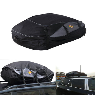 Waterproof Roof Top Carrier Bag Rack Storage Luggage Car Rooftop Travel  S Size
