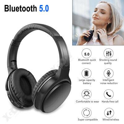 Bluetooth V5.0 Wireless Stereo Headphones Foldable Headset S