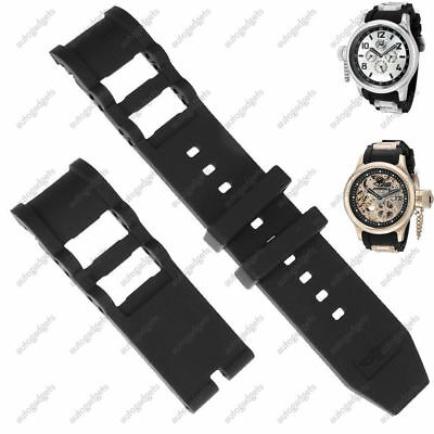 26mm RUBBER WATCH BAND STRAP FOR INVICTA RUSSIAN DIVER 1201, 1805,1845,1959 #4