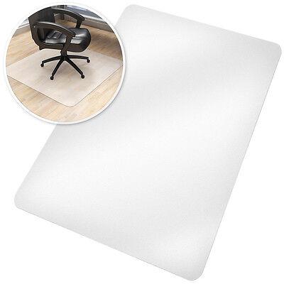 Bodenschutzmatte Bodenschutz Büro Stuhl Unterlage Boden Matte Parkett 75x120cm