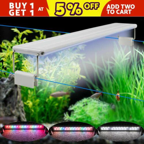 Aquarium Beleuchtung LED Weiß RGB Pflanzen Wachsen Lampe Aquariumleuchte