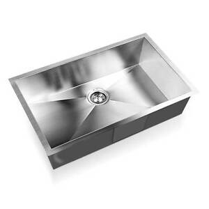 NEW FREE SHIPPING - Stainless Steel Kitchen Laundry Sink 700 x 4 Silverwater Auburn Area Preview
