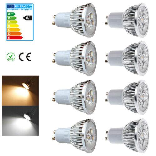 5W 7W GU10 LED Birne Leuchtmittel Lampen Warmweiss Kaltweiss ReflektorLampe 230V