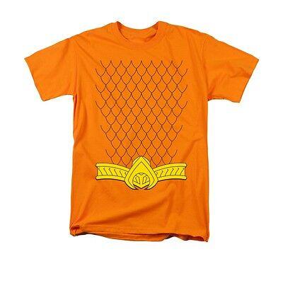 AQUAMAN NEW AQUA COSTUME Licensed Adult Men's Tee Shirt SM-5XL Halloween - 5xl Halloween Costumes