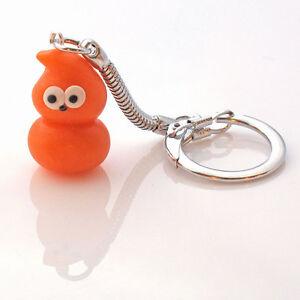 zingy flame mascot keyring cute handmade  EDF blob SALE