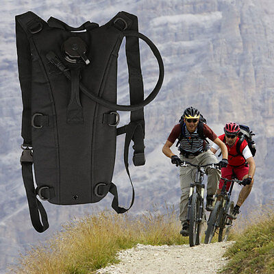 3L Water Bladder Bag Backpack Hydration System Survival Hiking Camping Cycling