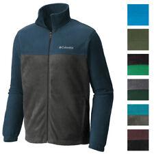 Columbia NEW Men's Colorblock Full Zipper Mock Neck Fleece Winter Jacket