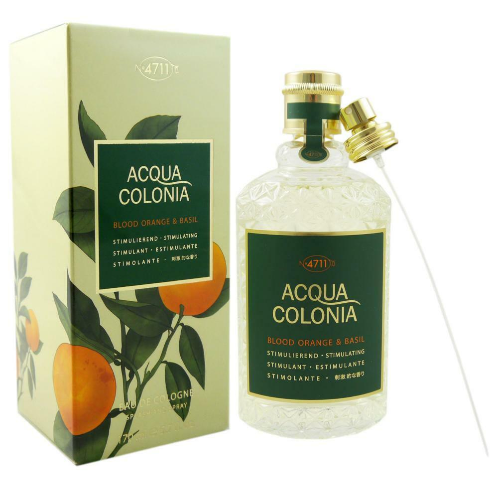 4711 Acqua Colonia 170 ml Eau de Cologne EDC - verschiedene Sorten  Blood Orange  Basil