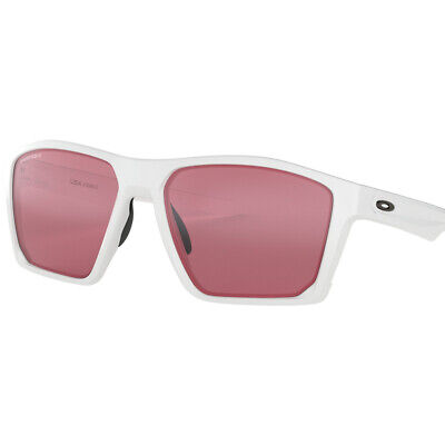 Oakley TargetLine 100% UV Protection Sunglasses, Polished White, Prizm Dark (Oakley Uv Protection)