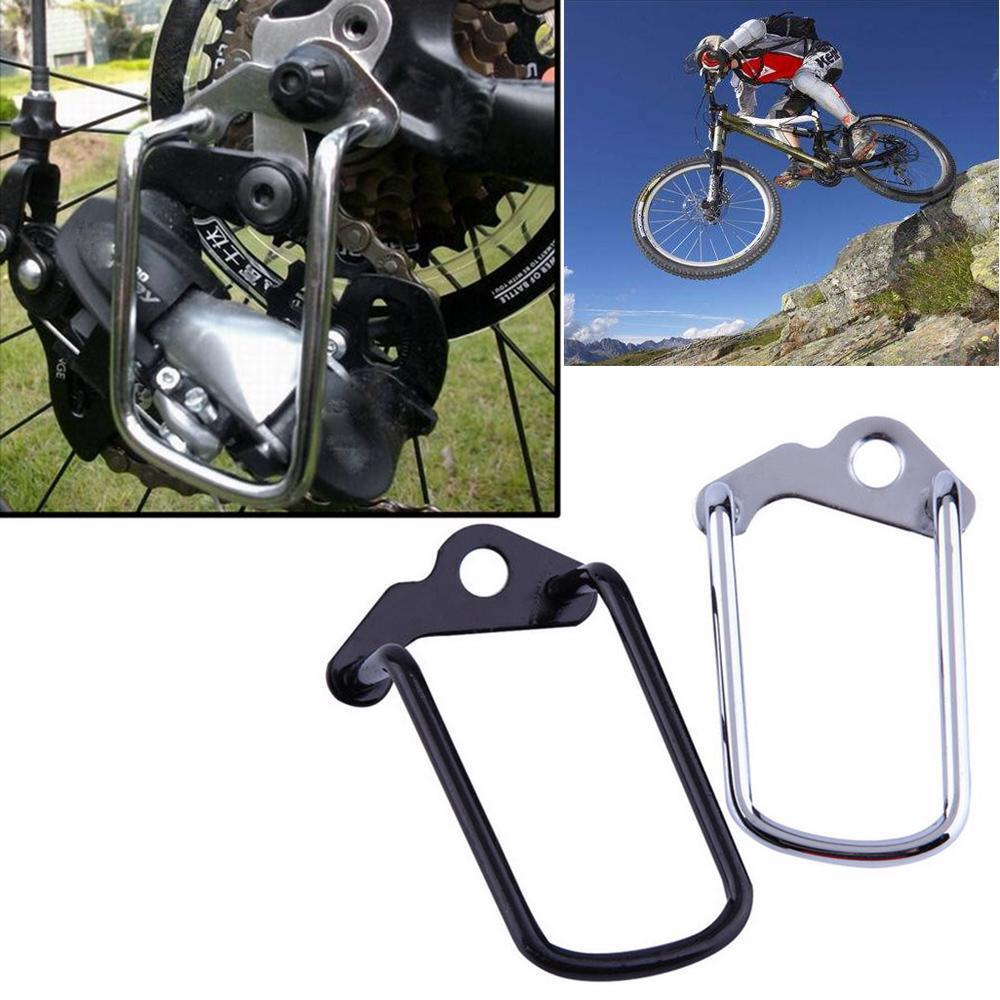 Outdoor Bike MTB Rear Gear Derailleur Protector Chain Stay Guard Bicycle