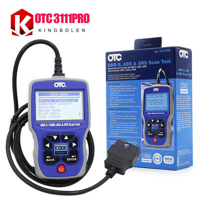 OTC 3111PRO OBD2 Scanner OTC 3111PRO Trilingual Scan Tool OBD II,CAN, ABS Airbag