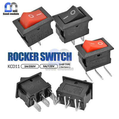 Kcd11 Rocker Switch Ac 3a 250v6a 125v 23pin Onoff Terminals Button Switch