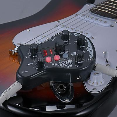 Guitar Multi Effects Processor Effect Pedal 15 Effect Types 40 Drum Rhythms X4v7