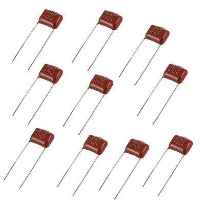 10 Pcs Cbb22 400v 0.1uf 5 Dip Polypropylene Film Capacitors Ad