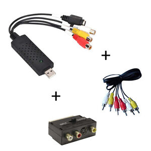 USB VHS To DVD Converter / Video Converter / Capture Complete Scart Kit + Leads