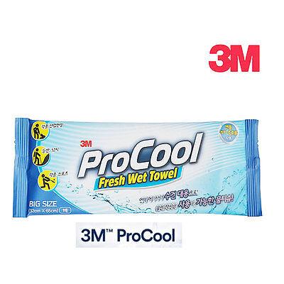 "3M ProCool Fresh Wet Cooling Towel Big Size Tissue 1 Pack 12.5"" x 25.6"""