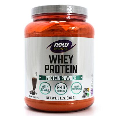 NOW Foods NOW Sports Whey Protein Powder - Creamy Chocolate - 2 lbs 2 Lb Powder Now Foods