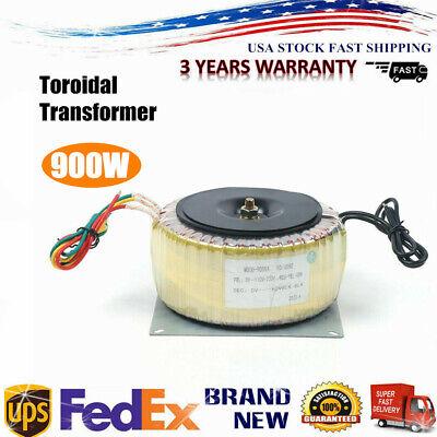 Toroidal Transformer Power Ring Transformer 45hz-60hz Output Ac60v Us Stock
