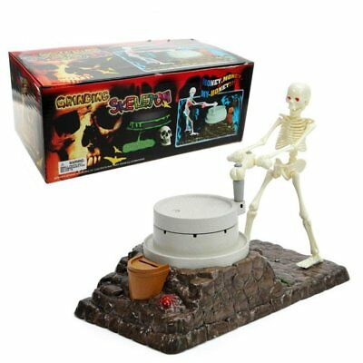 Funny Money Bank (Skeleton Automation Money Bank Halloween Decoration Gift Funny Party Music Talk )