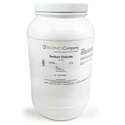 Sodium Chloride 2.5kg Lab Grade
