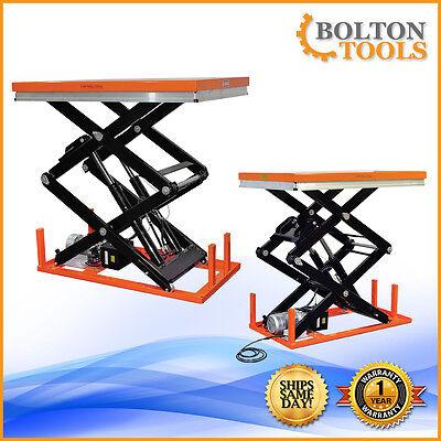 Bolton Tools Electric Hydraulic Lift Table 2200 Lb Etw1001