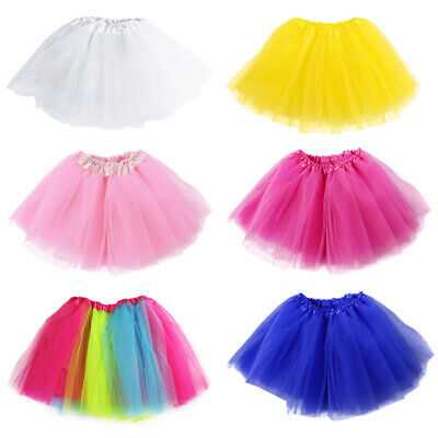 Neue Erwachsene Tüll Tutu Rock Dressup Party Kostüm Ballett Womens Dance (Dancewear Tutu Kostüm)