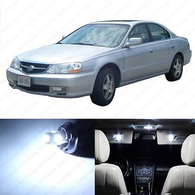 15 x White LED Interior Lights Package For 1999 - 2003 Acura TL + PRY TOOL