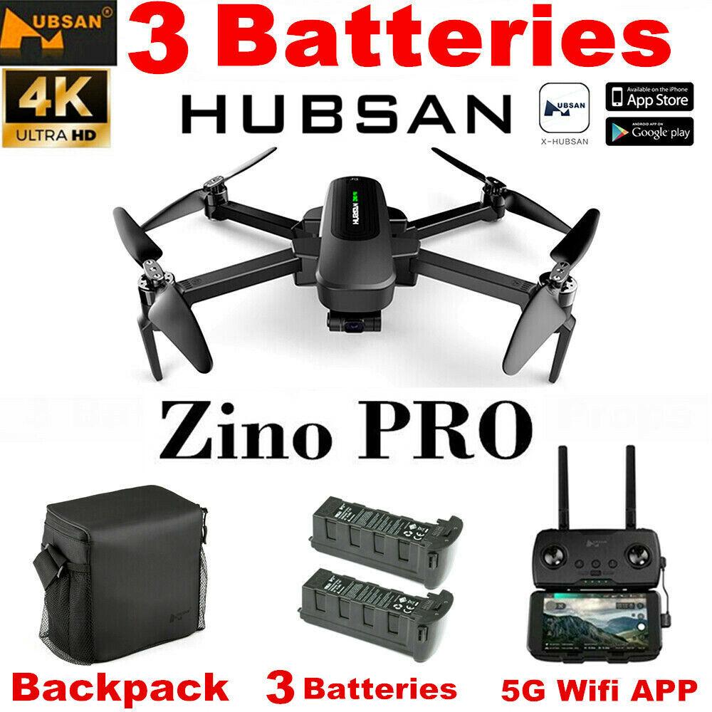 Hubsan Zino PRO 4.5KM FPV Combo Quadcopter DRONE--4K Camera