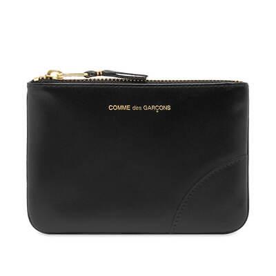 Comme Des Garçons SA8100 Black Leather Unisex Wallet BNIB $99 -50% OFF