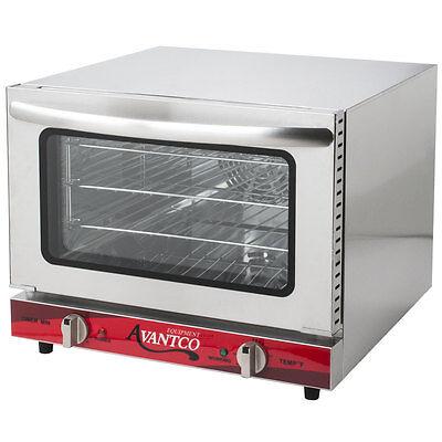New Avantco Commercial Electric Convection Oven Countertop Restaurant Equipment