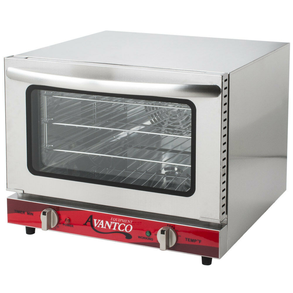 New Avantco Commercial Electric Convection Oven Countertop R
