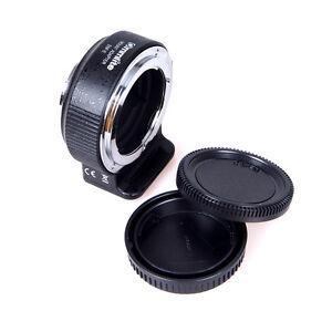 Commlite CM-ENF-E(1) Auto focus AF Adapter Nikon F Lens to Sony E NEX A7 A7R II