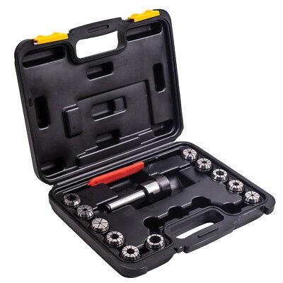 Precision Er32 Collet Set Mt3 Shank Chuck Spanner W Box For Milling Machine