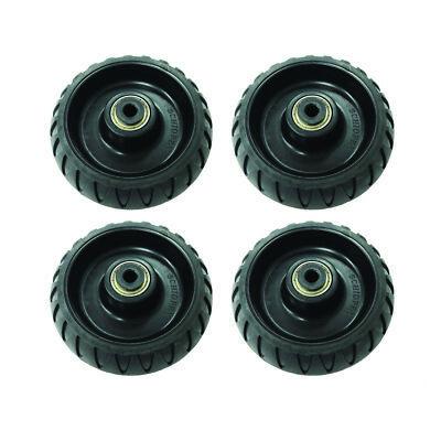 4 Pack Stryker Stretcher Cot Wheels Mxpro Bariatric 6500 6082 6090 Ems Emt