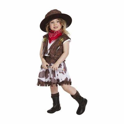 Mädchen Kinder Kostüm Outfit Western Buch Tag Kostüm - Mädchen Cowgirl Outfits