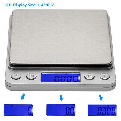 3KG/0.1g Jewelry Electronic Digital Scale Weight Gram Pallets Pocket Herb Grain