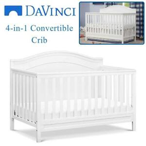 NEW DaVinci Charlie 4-in-1 Convertible Crib, White Condtion: New, In White