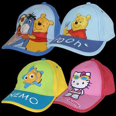 Kinder Base Cap Basecap Baseball Mütze Hut Kappe Strand Sommer Kindermütze NEU