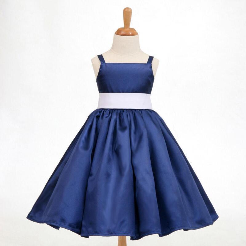 blue flower girl dresses ebay discount wedding dresses