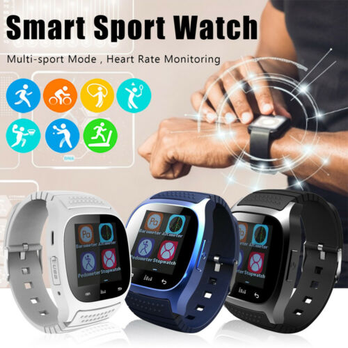 Smart Watch Mate Wrist Waterproof Bluetooth  For Android HTC Samsung iPhone IOS Cell Phones & Accessories