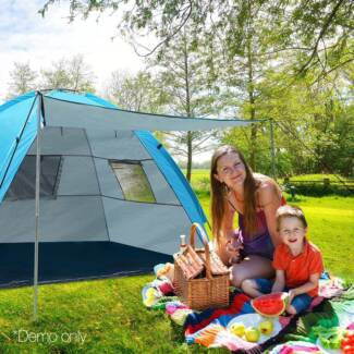 4 Person Beach Tent & UV Water-resistant Heady Duty 12 Person Camping Tent | Camping ...