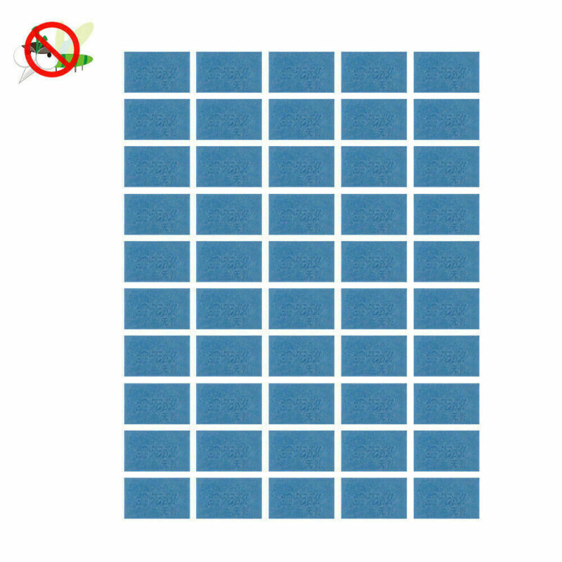 50 Pack Mosquito Repellent Insect Bite Mat Tablet Refill Rep