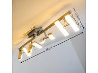 LED Ceiling Light Sakami adjustable - LED Ceiling spotlights Warm White light colour x3