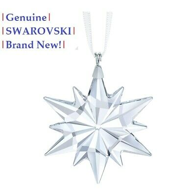 Swarovski Little Star Christmas Tree Ornament snowflake 5257592 NEW in Gift Box Swarovski Christmas Star