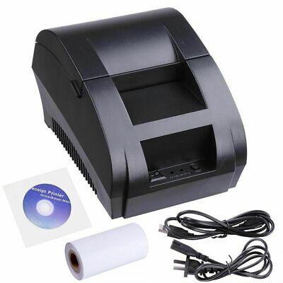 Mini 58mm USB POS ESC Thermal Dot Receipt Bill Label Printer Roll Paper Eq