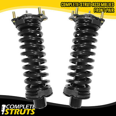 02-12 Jeep Liberty Front Quick Complete Struts & Coil Spring Assembly Pair (Jeep Liberty Sport)