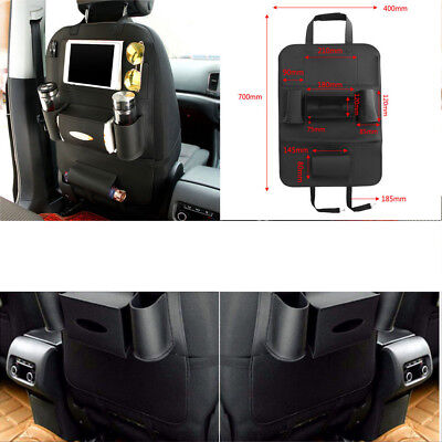 New Car Seat Back Bag Organizer Travel Storage Phone Holder Multi-Pocket