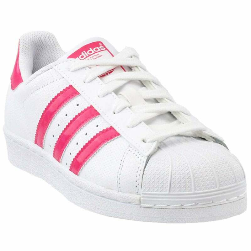 adidas Superstar  Kids Girls  Sneakers Shoes Casual   - White - Size 7 M